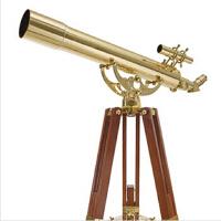 【星特朗】Ambassador 80AZ 黄铜天文望远镜 红木支架