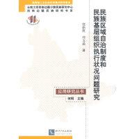 民族区域自治制度和民族基层组织执行状况问题研究