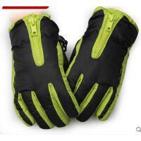 手套 男女儿童滑雪手套 防风保暖手套 韩国保暖儿童手套 五指加厚绒防风宝宝 男童女童滑雪手套