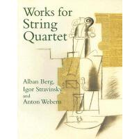 【预订】Works for String Quartet