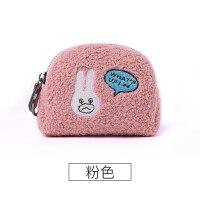 新款小零钱包女拉链简约韩国迷你可爱小方包趣味零钱袋硬币包