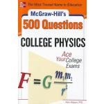 【预订】McGraw-Hill's 500 College Physics Questions: Ace Your C