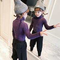 女童毛衣高领季新款女宝宝打底保暖毛衣女宝宝针织衫加厚羊绒衫