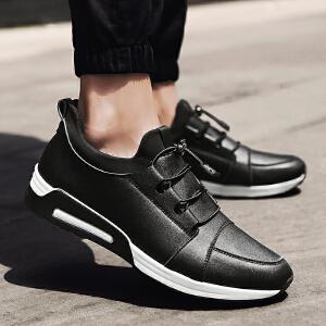 【28℃恒温保暖】(加绒可选)休闲鞋男英伦皮鞋运动鞋防滑耐磨