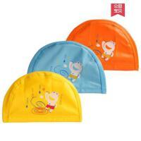 户外新品儿童卡通PU防水泳帽宝宝泳帽彩色不勒长发防水泳帽女男儿童