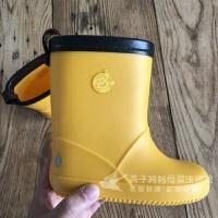 儿童雨鞋时尚可爱日本儿童雨鞋男童女童小学生幼儿园宝宝水鞋套鞋胶鞋防滑新款春夏