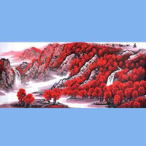 中国青年美术家协会常务理事,中国山水画院专业画家,国家一级美术师高云鹏(万山红遍)9
