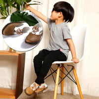 【3.21-3.22跨店每满100减50】梓缇童鞋 儿童皮鞋休闲小白鞋 男童女童皮鞋 英伦婚礼花童演出鞋 系带礼服鞋