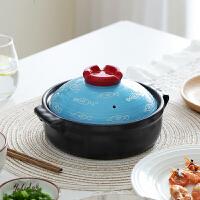 光一网红陶瓷砂锅煲汤的小号小型家用燃气煤气灶专用养生煮熬汤煲炖锅