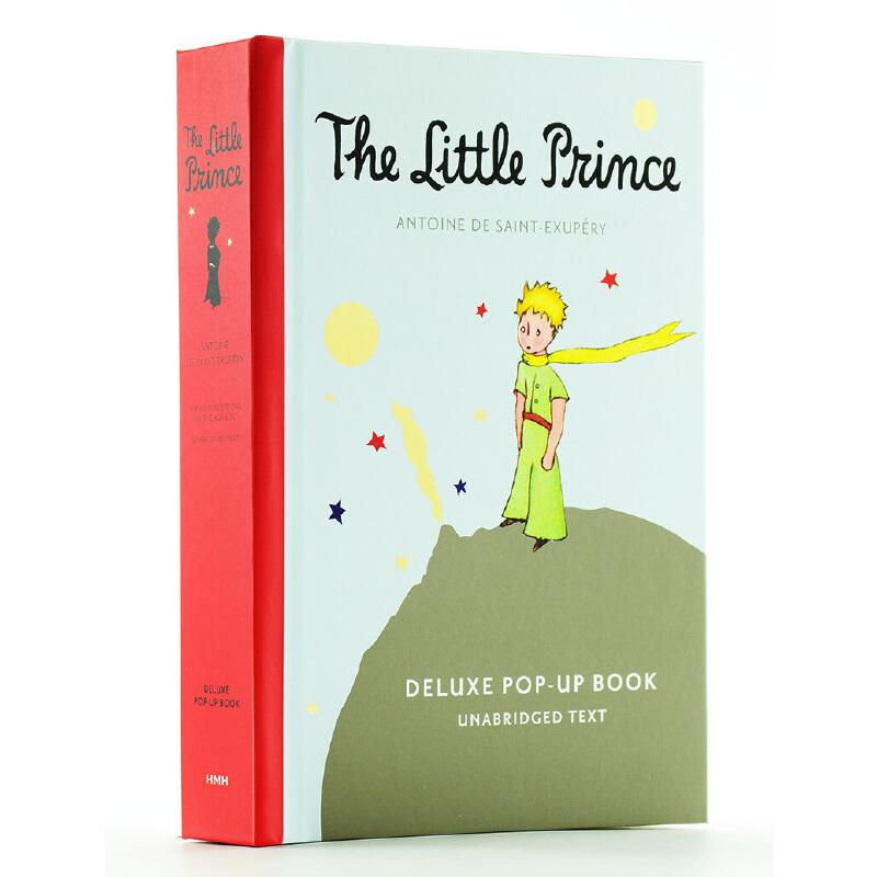 【中商原版】The Little Prince Deluxe Pop-Up进口英文原版小王子立体书 这部*童话告诉我们一个深刻的道理,人可以长大但是不能失去童真!