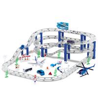托马斯儿童电动轨道合金小汽车玩具套装多层拼装男孩
