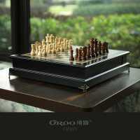 �_路大����H象棋�和�高端��木西洋棋成人比��S�[件�b��h窗桌