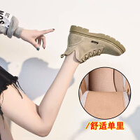 chic女短靴英伦风学生韩版百搭2018网红靴子女秋季新款