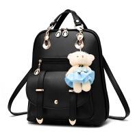 新款韩版时尚女包大容量女士包包简约双肩学生书包