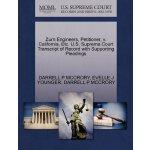 Zurn Engineers, Petitioner, v. California, Etc. U.S. Suprem