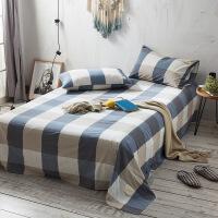 商场同款棉水洗棉床单被套被单单件学生宿舍单人1.5米1.8m床套件