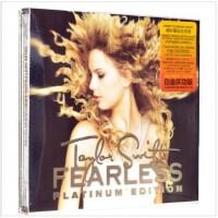 原装正版 Taylor Swift泰勒斯威夫特Fearless放手去爱白金庆功版CD 车载