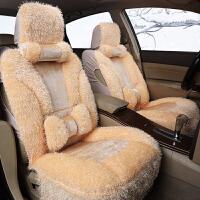 骑仕 新款短毛绒保暖汽车座垫坐垫车垫 冬季汽车坐垫