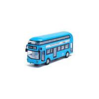 伦敦双层巴士合金车模 儿童玩具城市公交汽车声光回力模型
