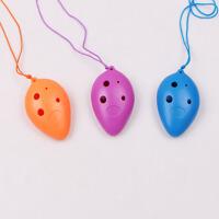 6孔陶笛塑胶初学者演奏迷你sc吹奏乐器儿童启蒙