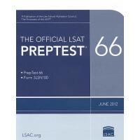 【预订】The Official LSAT Preptest 66