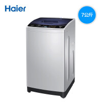 Haier海尔 EB70M919 7公斤全自动波轮洗衣机 智能称重 智能双宽