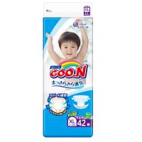 【澳门直购】日本大王GOO.N 维E系列婴儿纸尿裤纸尿片尿不湿 加大码XL42片(12-20kg)