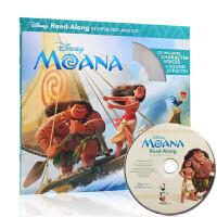 【中商原版】海洋奇缘 英文原版 Moana Read-along(书+CD)迪士尼独立阅读系列