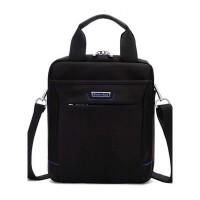 男包单肩包竖款公文包斜挎业务包13寸电脑包休闲商务包