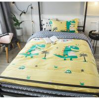 棉宿舍三件套1.2米床学生单人纯棉床单被套床上用品套件