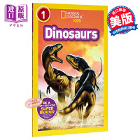 National Geographic Readers:Dinosaurs 国家地理 恐龙