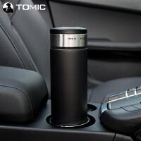 特美刻 车载加热杯智能电热水杯12V汽车用热水器烧水壶保温杯100度