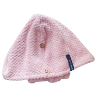 媲美美国干发帽出口日本女长发速干吸水擦头发毛巾神器浴帽 +速干浴巾 送方巾