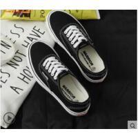 鞋女帆布鞋新款小黑鞋学生经典情侣休闲板鞋女布鞋