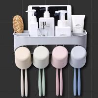 家居用品用具厕所洗手浴室洗漱台卫生间置物架壁子挂吹风机免打孔