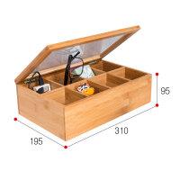 桌面收纳盒收纳柜楠竹茶叶盒实木复古手表眼睛礼品首饰盒