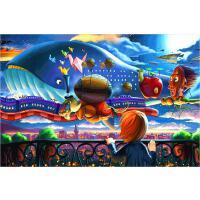 1000片木质拼图500 儿童卡通早教益智玩具礼物 童话世界