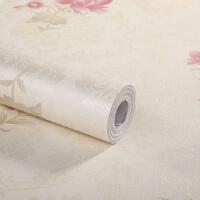 三合 加厚 墙贴 翻新贴 田园小花PVC自粘墙纸 带胶壁纸10米装