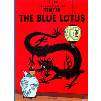 The Adventures of Tintin: The Blue Lotus 丁丁历险记・蓝莲花 ISBN 9780316358569