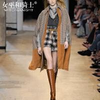 女巫2017秋冬装新款外套短裤西装衬衫洋气套装女时尚气质四件套潮