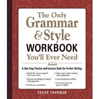 【中商原版】你永远都需要的语法和文体练习册 英文原版 The Only Grammar & Style Workboo