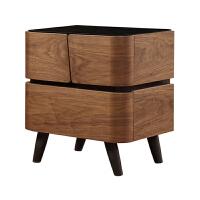 客厅北欧风斗柜 卧室收纳储物家具简约实木玄关柜子床头柜 整装