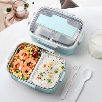 光一304不锈钢便保温饭盒上班族便携分格当小学生分隔型餐盒套装餐盘