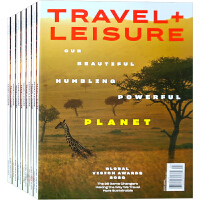 美国 TRAVEL +LEISURE 杂志 订阅2020年 F23 旅游度假、休闲生活杂志