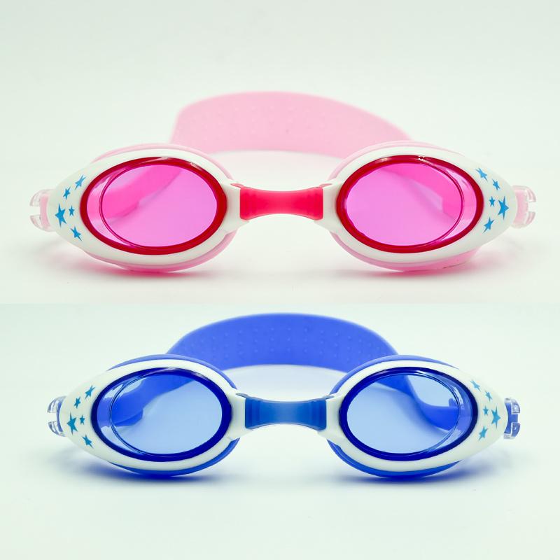 儿童泳镜时尚可爱卡通游泳眼镜高清防水防雾男女训练泳镜 品质保证 售后无忧 支持礼品卡付款