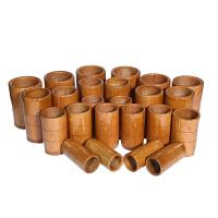 20个碳化竹罐竹筒拔火罐竹拔罐器30罐竹炭罐水煮罐竹子家用一套装Q