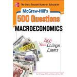 【预订】McGraw-Hill's 500 Macroeconomics Questions: Ace Your Co