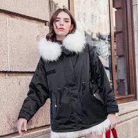 MG小象轻薄时尚羽绒服2019新款女装冬季韩版气质加厚保暖女士外套