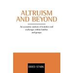 【预订】Altruism and Beyond: An Economic Analysis of Transfers