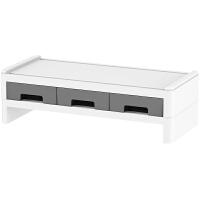 台式电脑增高架子显示器屏幕底座笔记本桌面收纳盒办公桌置物支架
